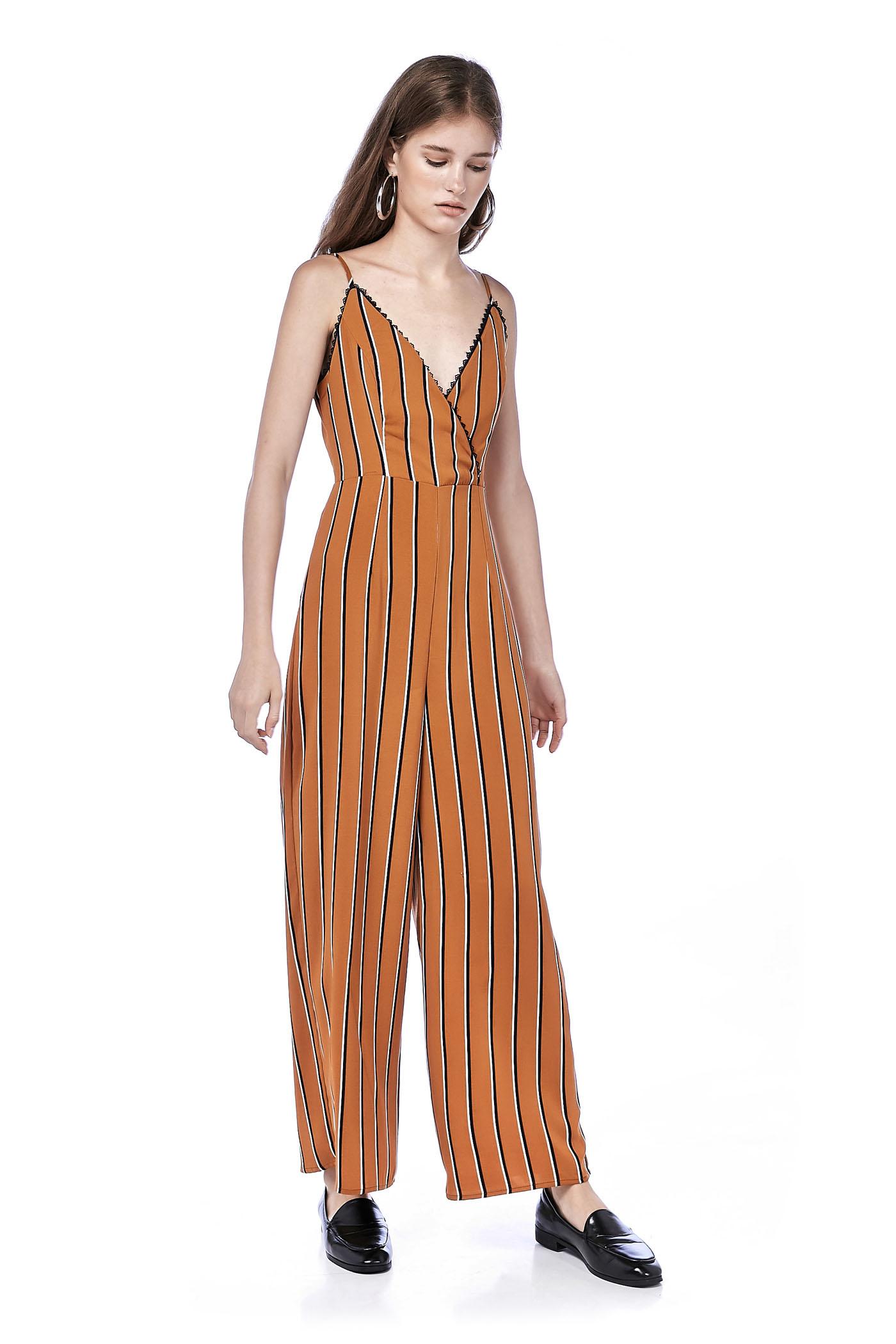 Venezia Lace-trim Jumpsuit