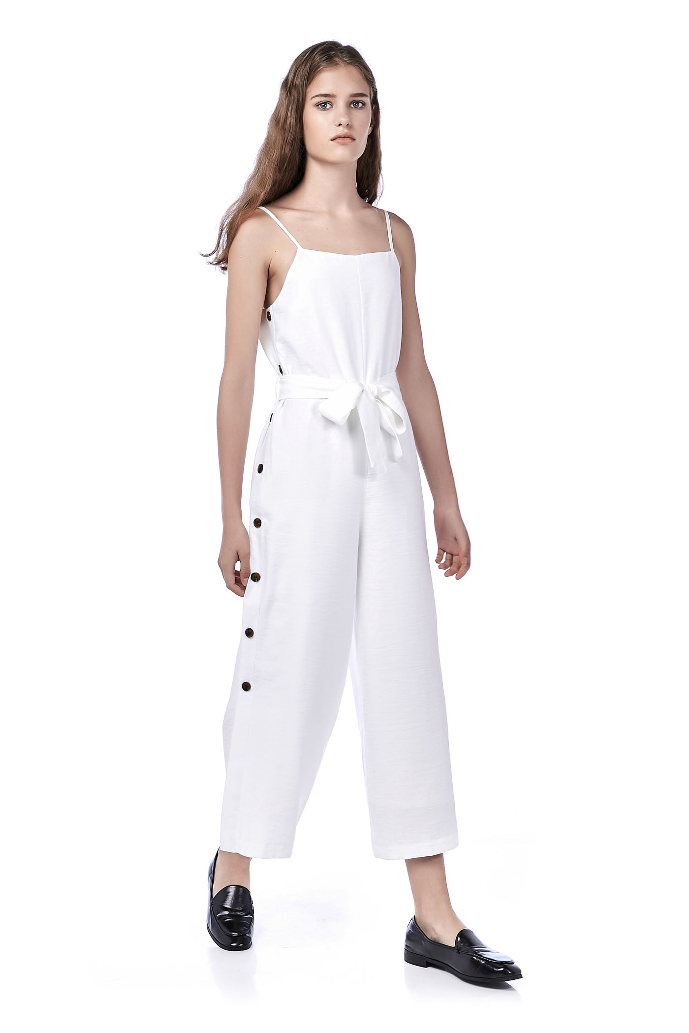 Kaenan Side-Button Jumpsuit