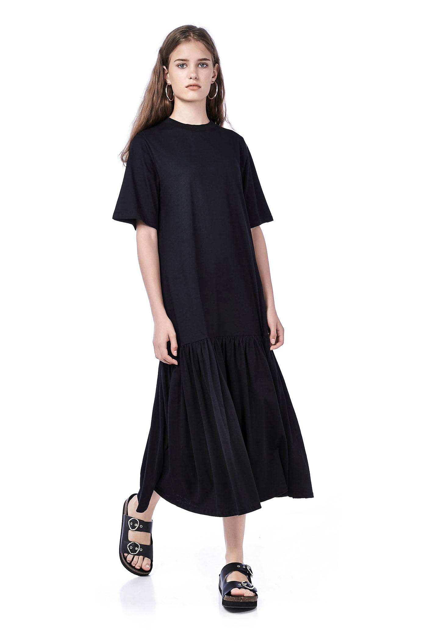 Ernie Drop-Waist Maxi Dress