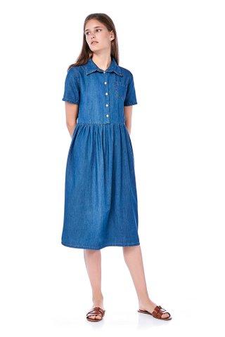 Sophia Denim Shirtdress