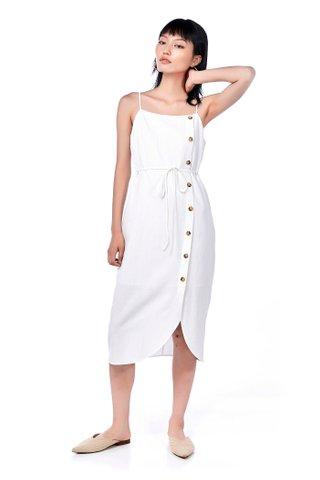 Deryn Bib Midi Dress