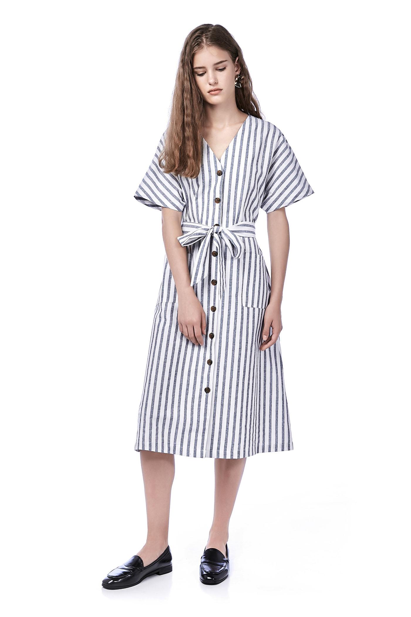 Sedna Stripe Shirtdress