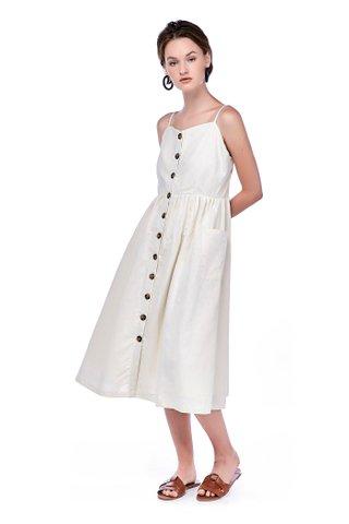 Valda Button-Down Dress