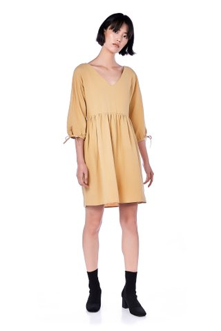 Monique Tie-Sleeve Dress