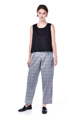 Paisley Loose-fit Trousers