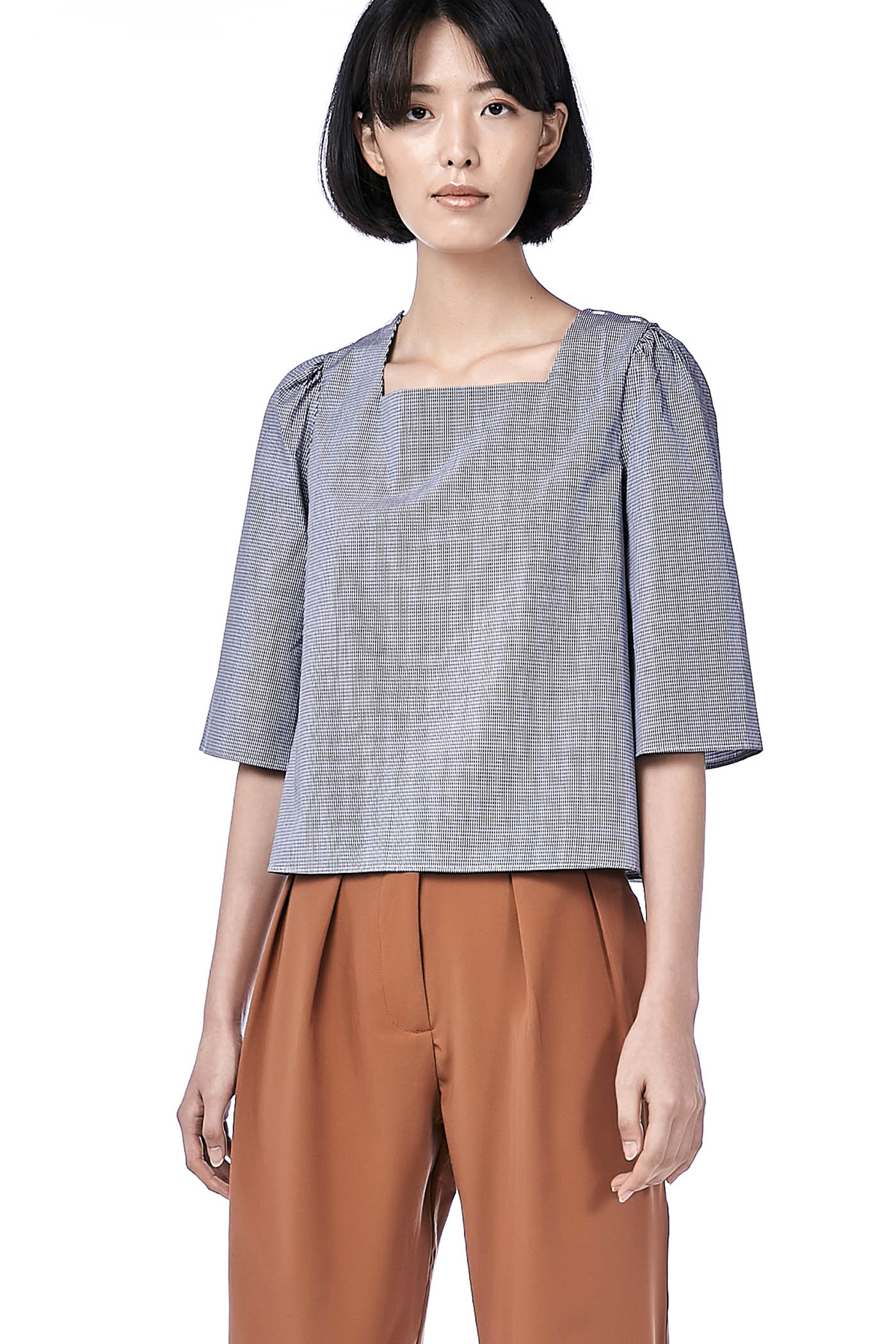 Neca Wide-Sleeve Blouse