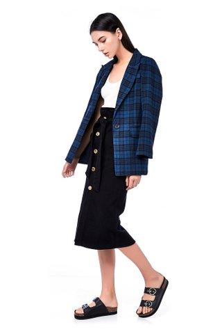 Suzette Chequered Blazer