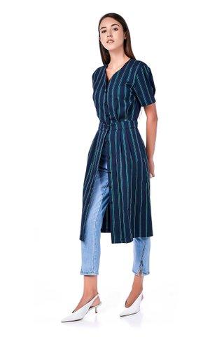 Lucy Button-Through Midi Dress