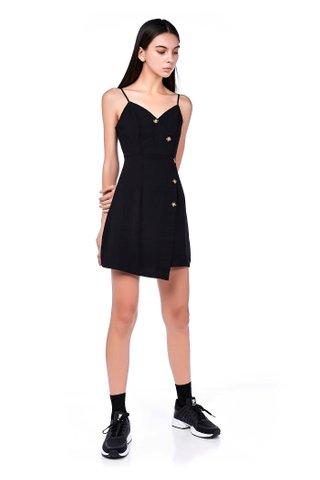 Dewina Cross-front Dress