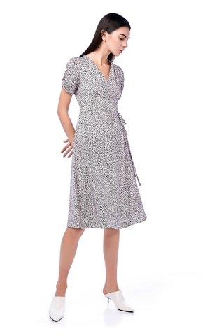 Neivie Overlap Dress