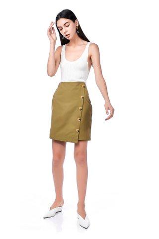 Kyo Button-Down Skirt