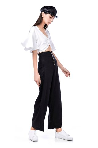 Essel Knotted Crop Top