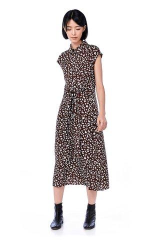 Atriona Front-tie Maxi Dress