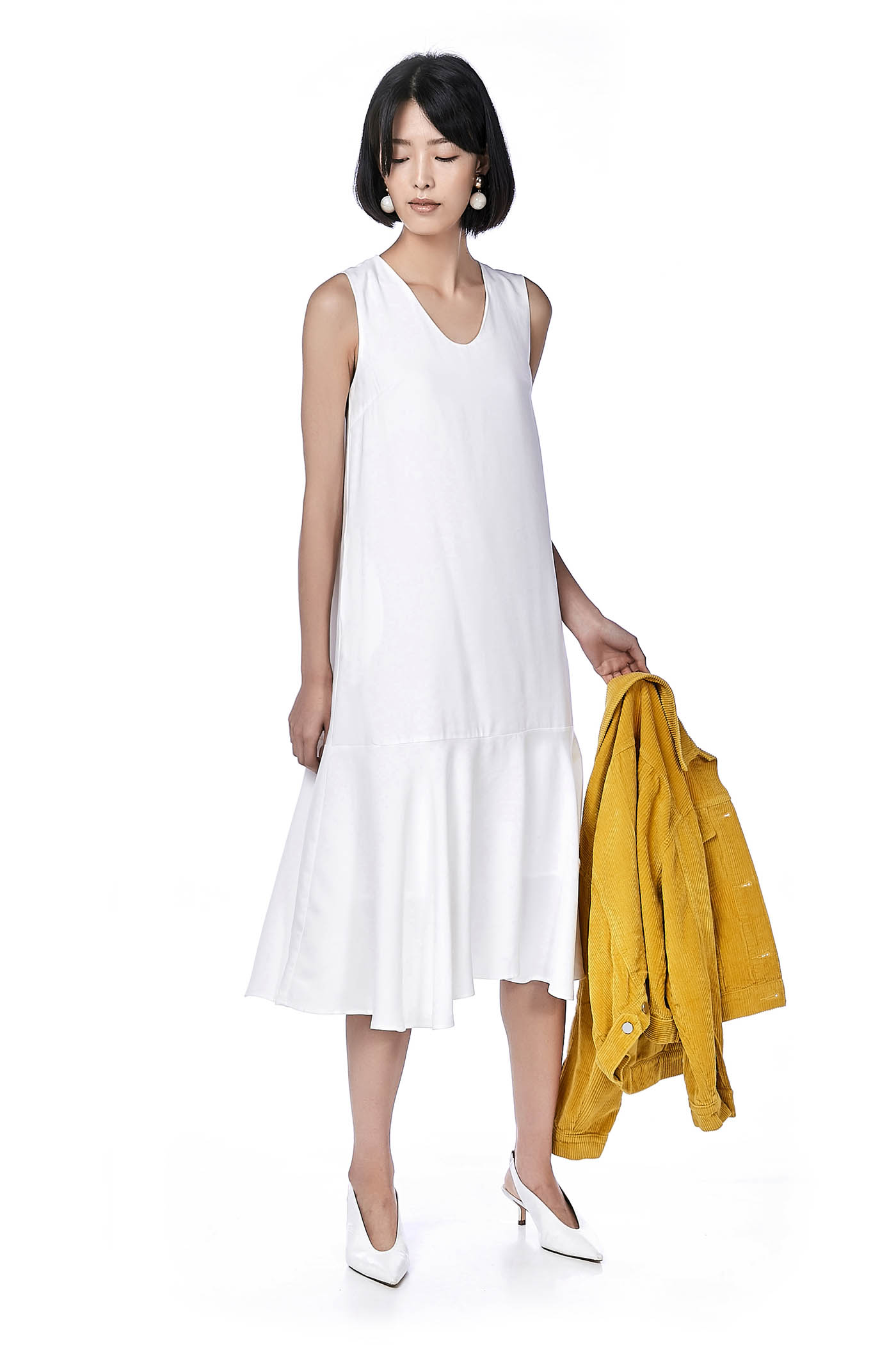Yuna Drop-Waist Maxi Dress