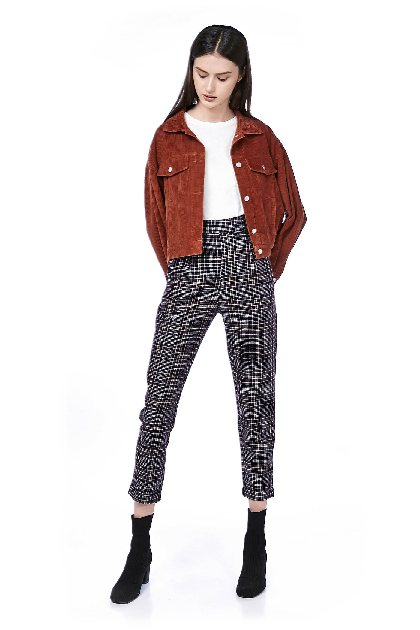 Laysi Pegged Trousers