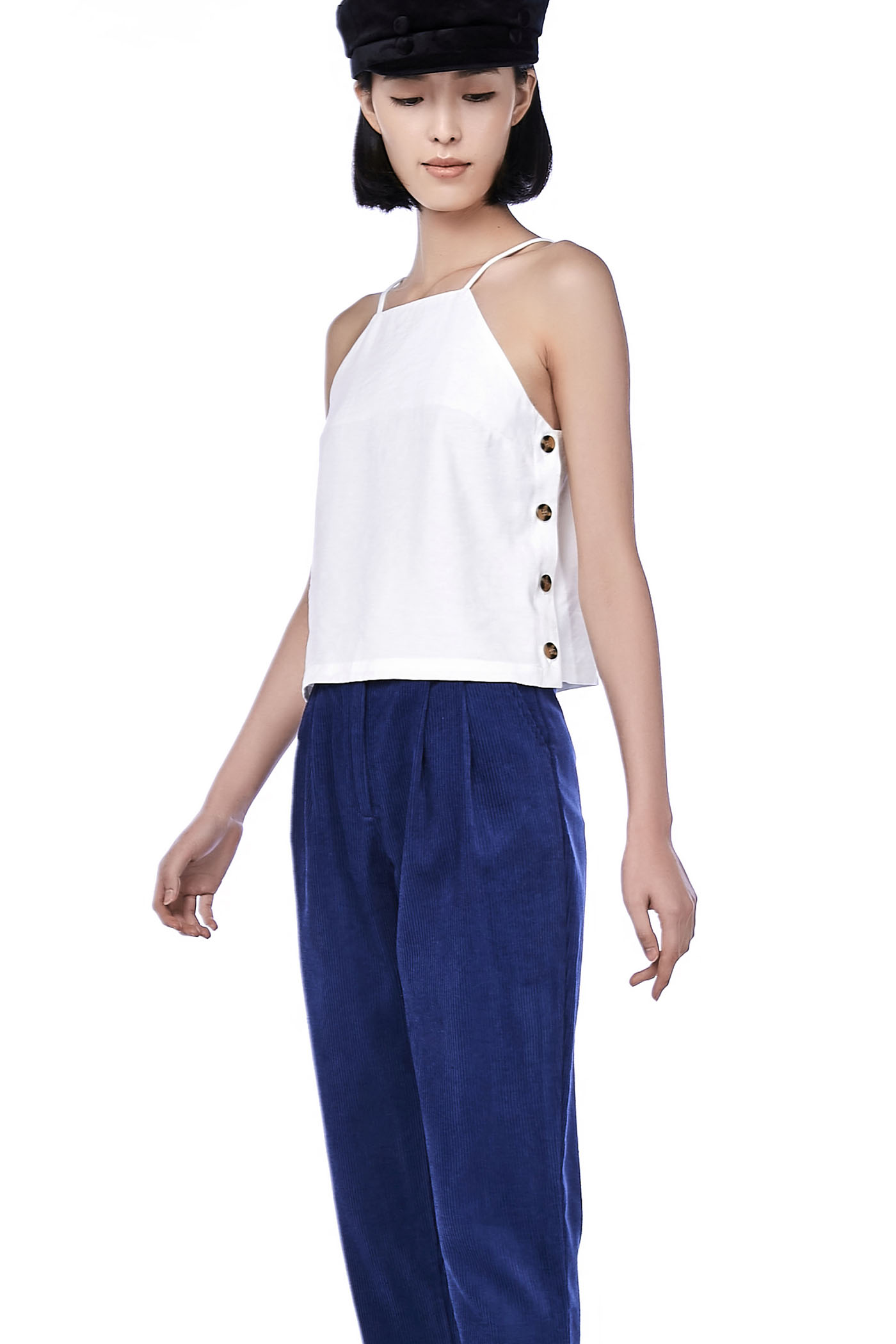 Pashli Side-Button Camisole