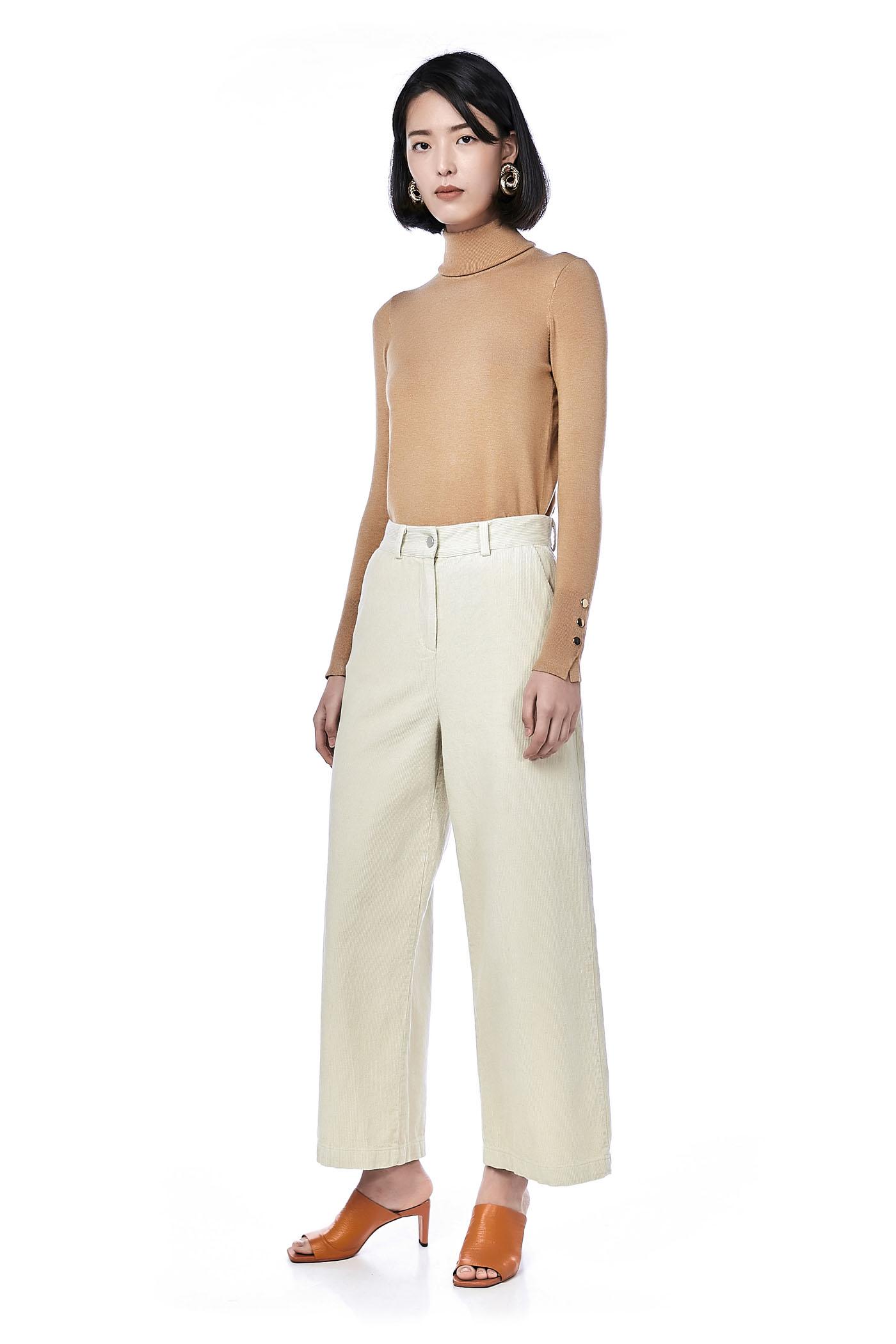 Cleo Corduroy Wide Leg Trousers