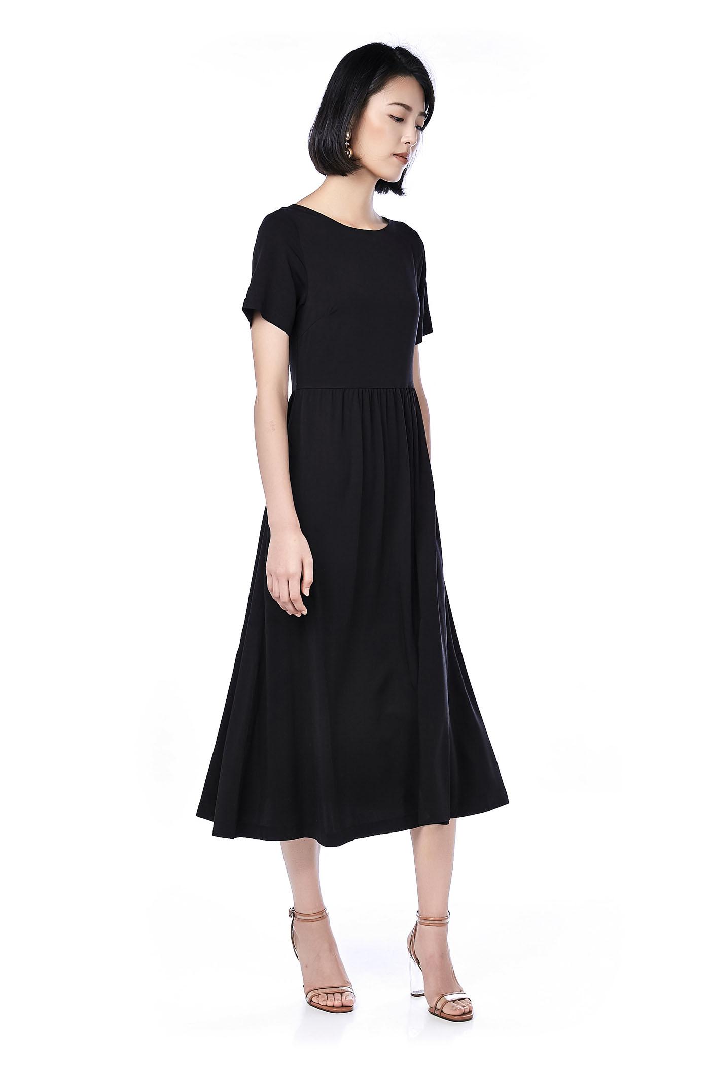 Tweyne Button-Through Maxi Dress