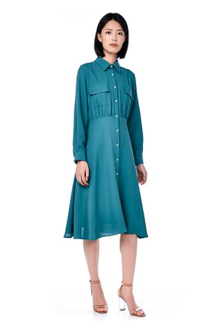 Joie Utility Shirtdress