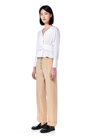 Tiare Belted Blouse