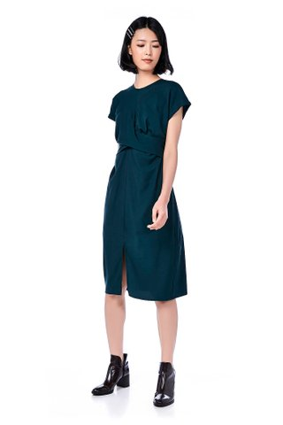 Paris Strap-Tie Midi Dress