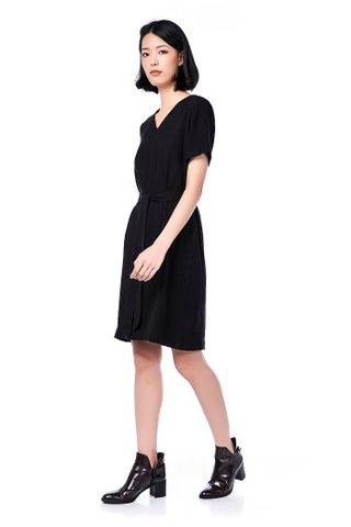 Perse V-Neck Dress