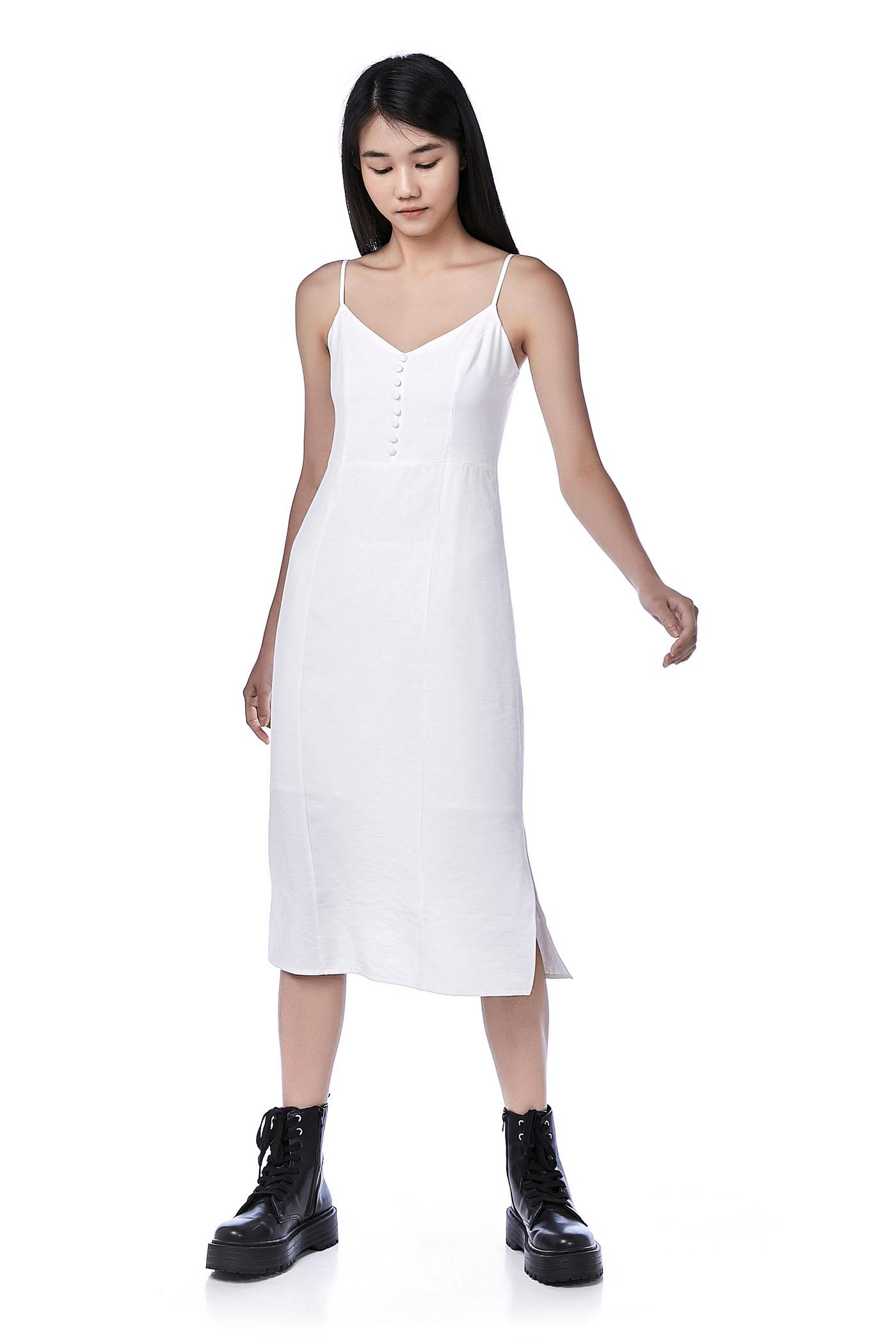 Varene Cami Slit Dress