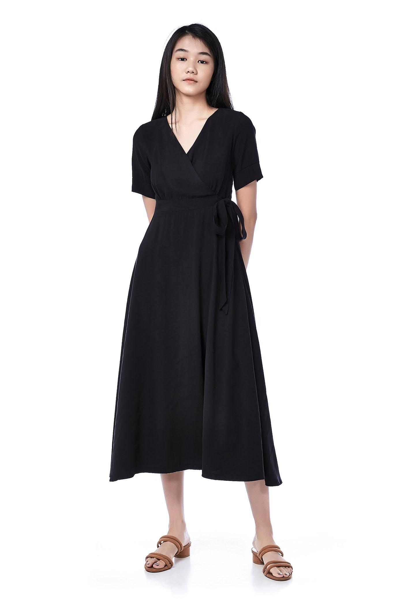 Nolita Overlap Maxi Dress