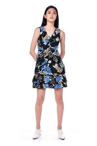 Rowlin Ruffle-Trim Dress