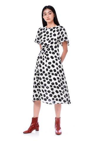 Colbie Front-pleat Dress