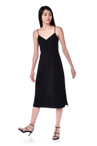 Varene Cami Slit Dress