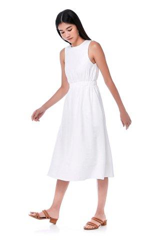 Melody Gathered-Waist Dress