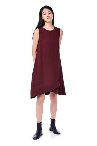 Destiny Layered Shift Dress