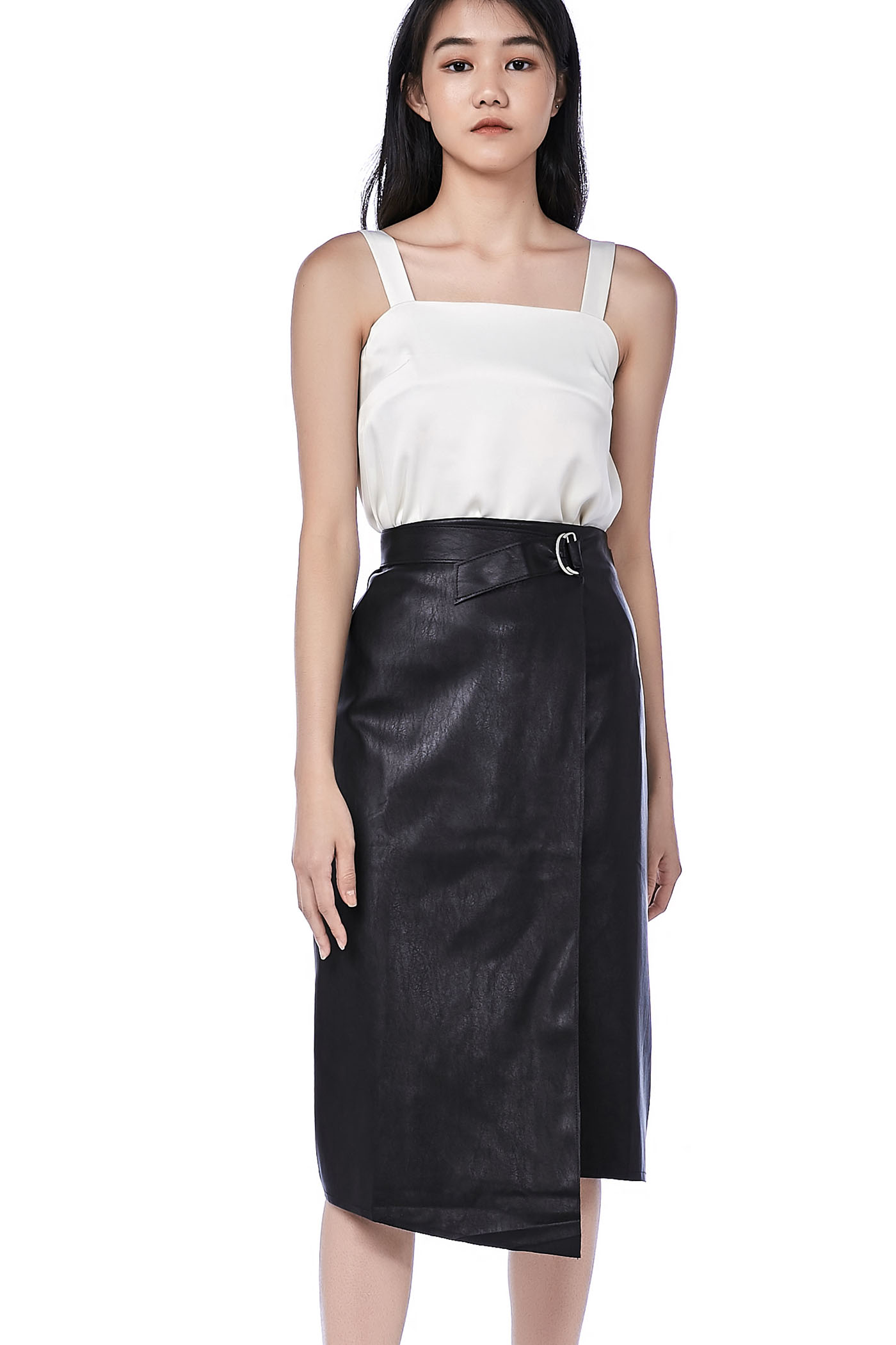 Nelly Square Neck Crop Top