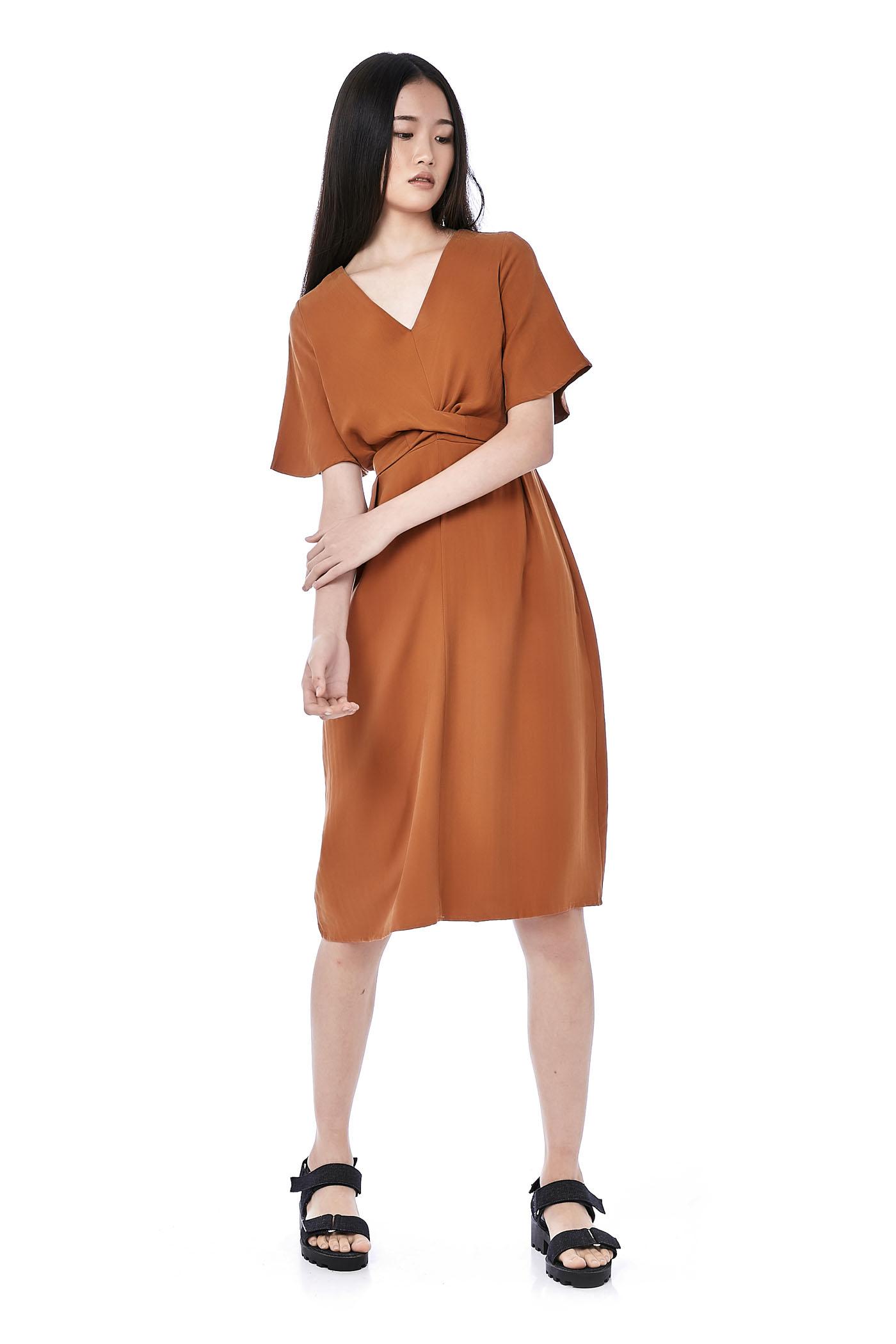 Desia Back-Tie Dress
