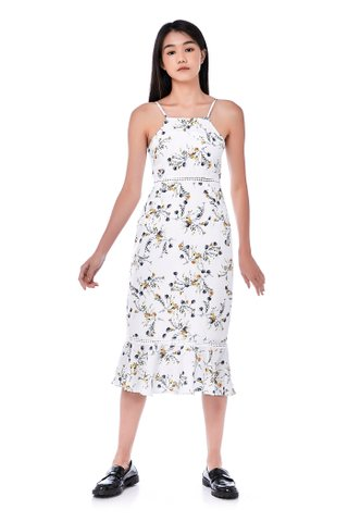 Yamin Crochet-Trim Dress