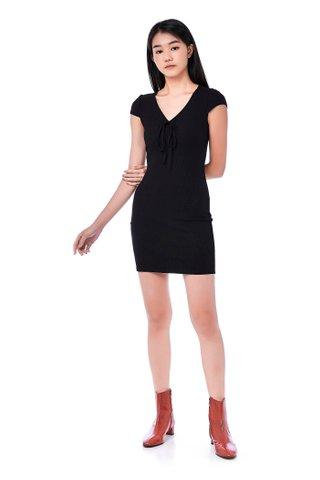 Jaheim Ribbed Mini Dress