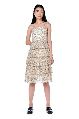 Mika Tiered-Ruffle Dress
