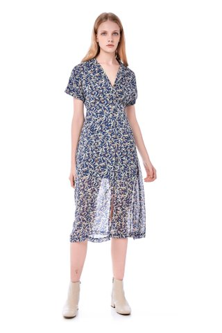 Delacey Collared Maxi Dress