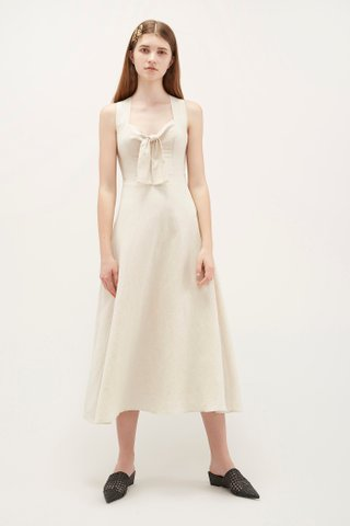 Colby Front-Knot Dress