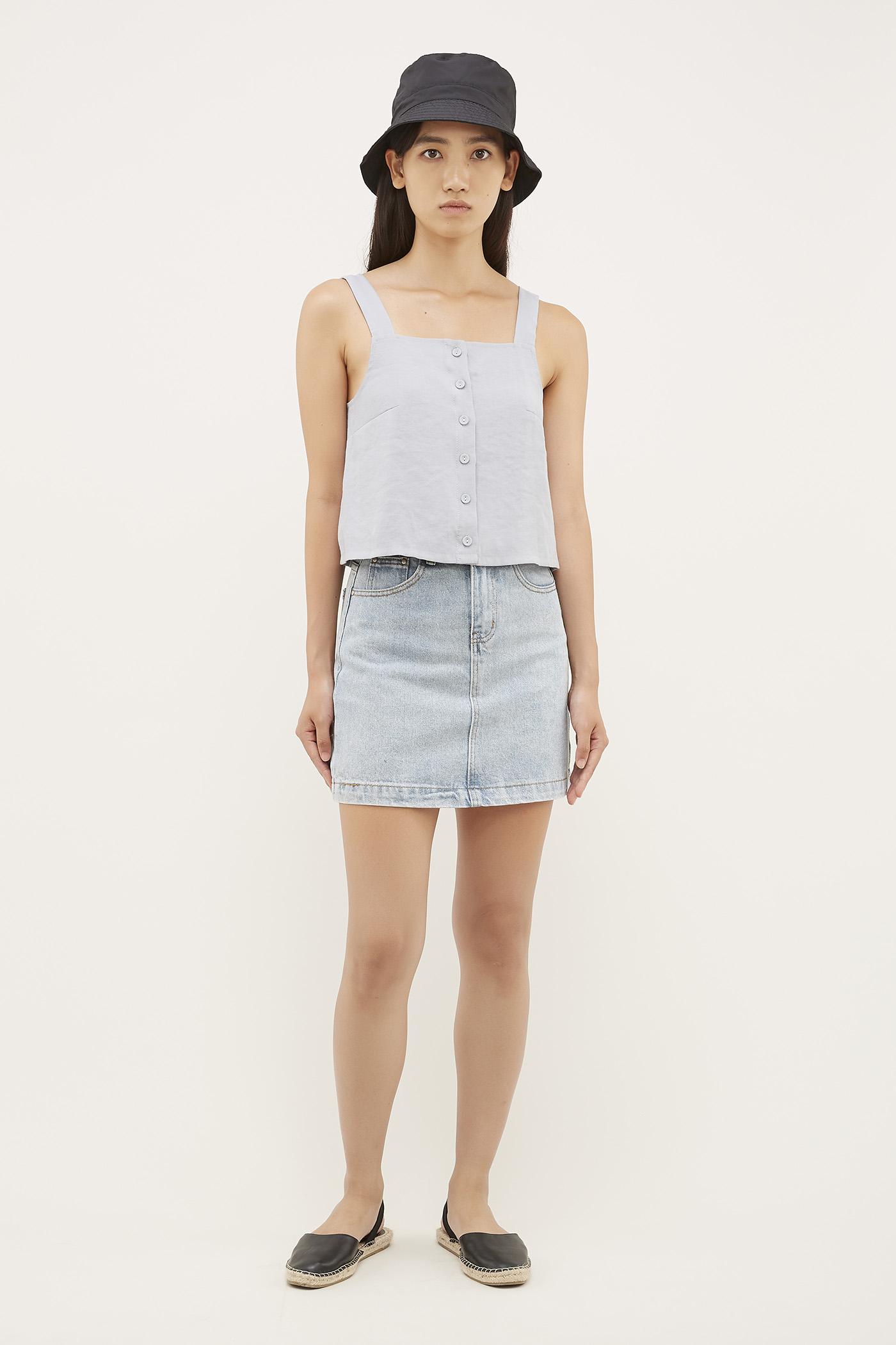 Luke Denim Skirt