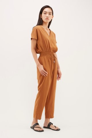 Moll V-Neck Jumpsuit