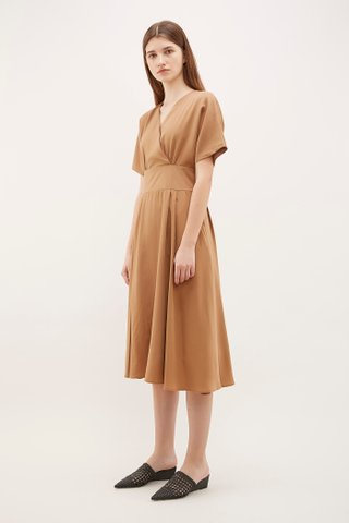 Neci Cross-Front Dress