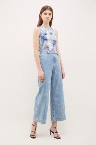 Hullen Wide-Leg Jeans