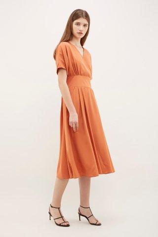 Neci Cross-Front Dress