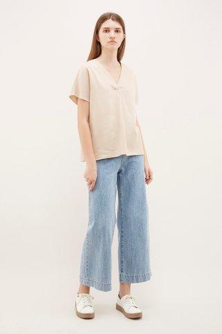 Starleen V-Neck Oversized Blouse
