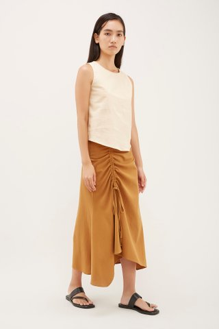 Lio Ruched Skirt