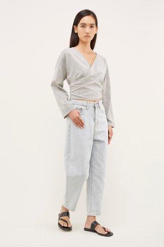 Evva High-Waisted Jeans