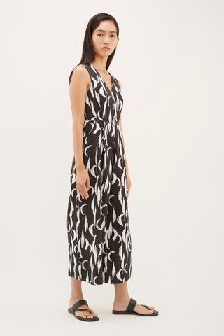 Syden V-Neck Jumpsuit