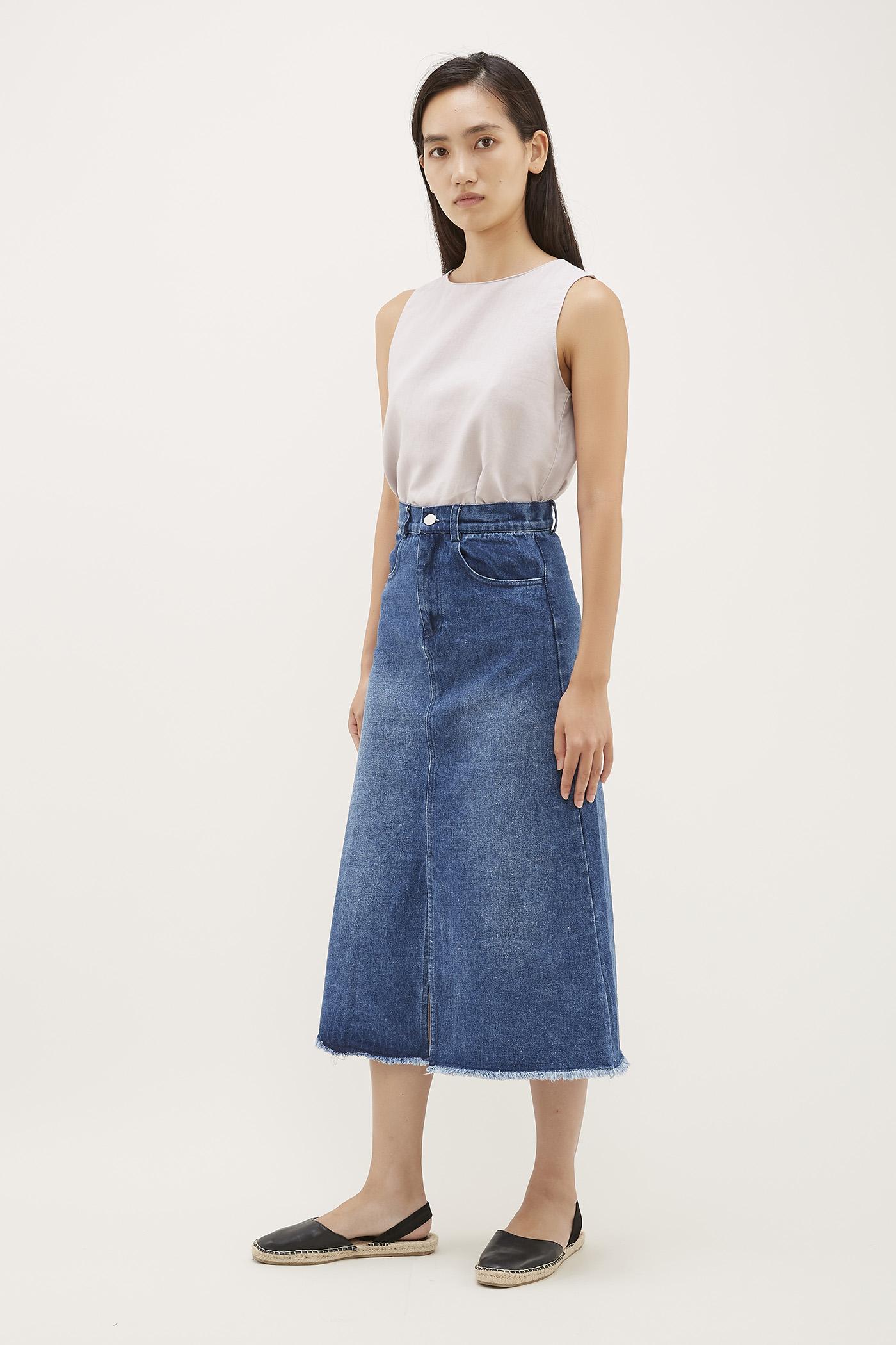 Adda Denim Skirt